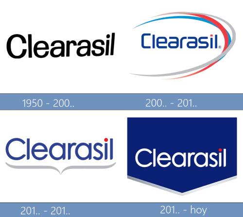 Clearasil logo historia