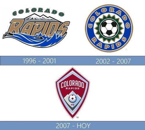 Colorado Rapids logo historia