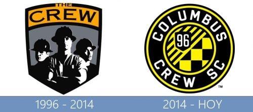 Columbus Crew SC logo historia