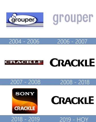 Crackle logo historia