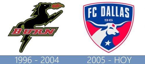 Dallas logo historia