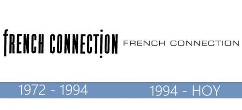 French Connection Logo historia