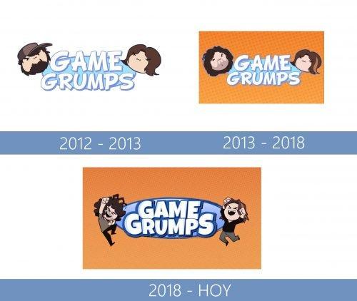 Game Grumps Logo historia