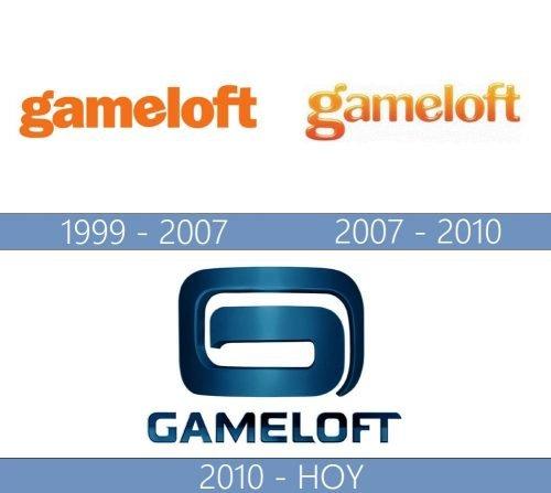 Gameloft logo historia