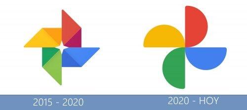 Google Photos logo historia