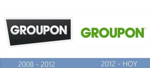 Groupon Logo historia