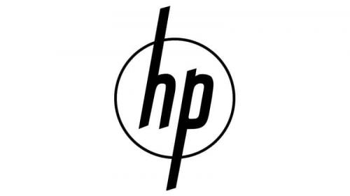 HP logo 1954