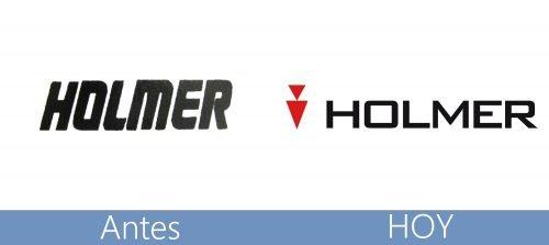 Holmer logo historia