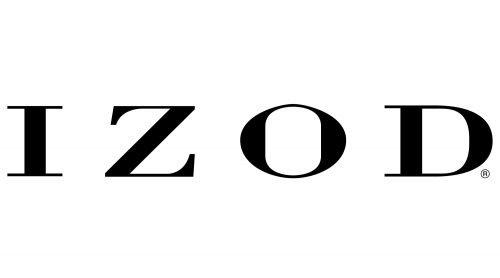 Izod logo 1938