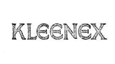 Kleenex Logo 1924