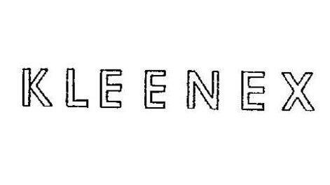 Kleenex Logo 1932