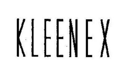 Kleenex Logo 1943