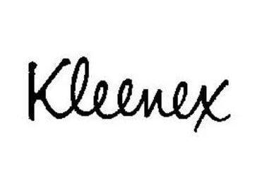 Kleenex Logo 1960