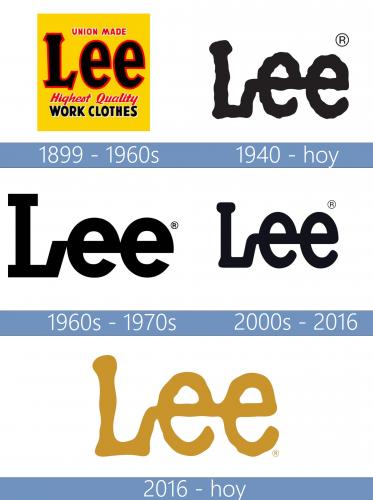 Lee Logo historia