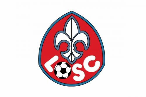 Lille Olympique logo 1974