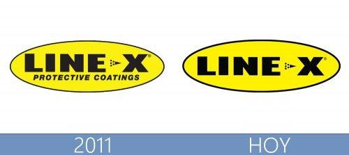 Line X logo historia