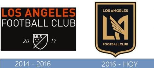 Los Angeles logo historia