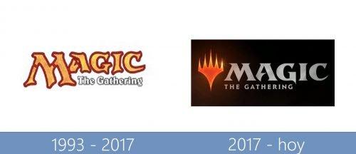 Magic The Gathering Logo historia