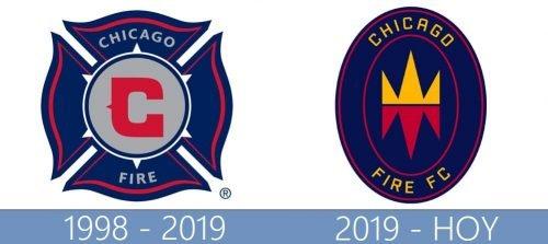 Chicago Fire Logo historia
