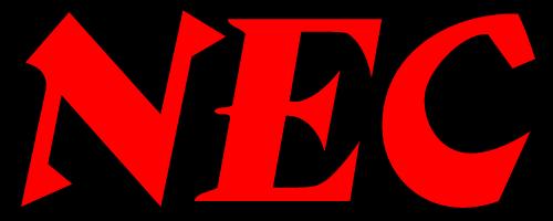 NEC logo 1963