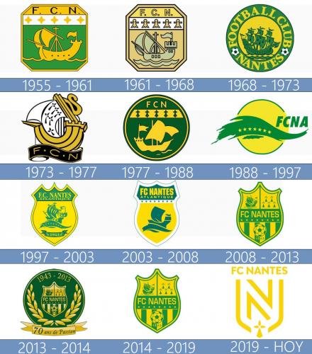 Nantes Logo historia