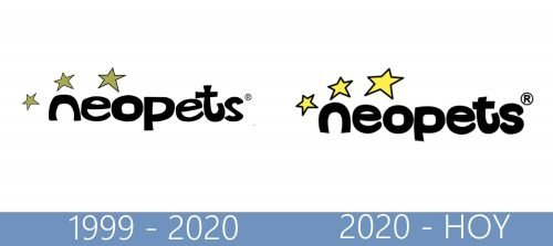 Neopets logo historia
