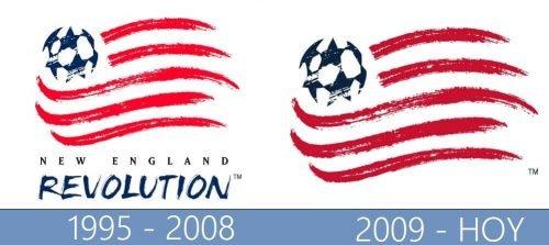 New England Revolution historiaogo