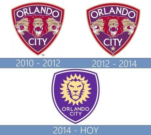 Orlando City logo historia