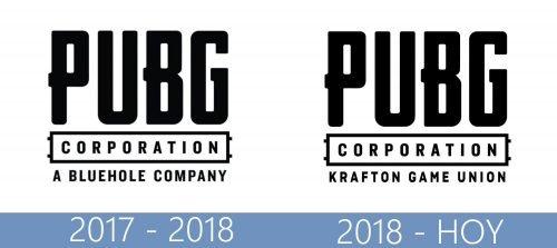 PUBG logo historia