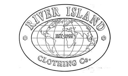 River Island logo 1988