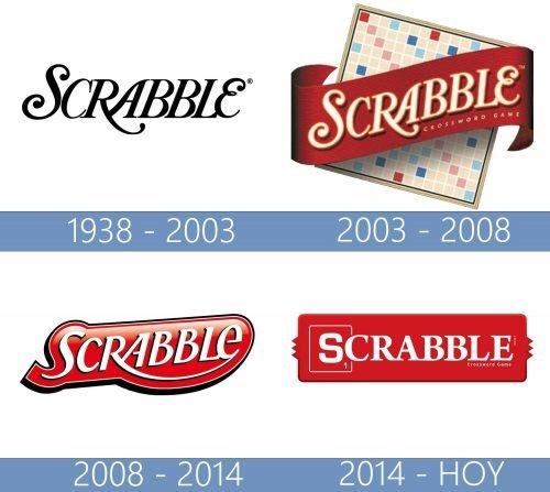 Scrabble logo historia