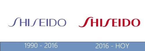 Shiseido logo historia