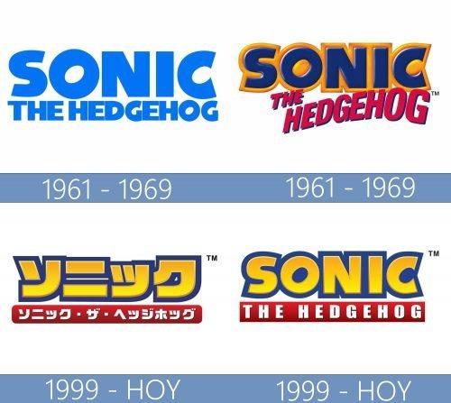Sonic the Hedgehog English logo historia