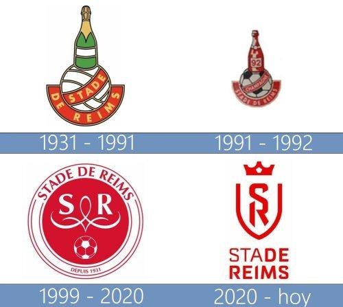 Stade de Reims logo historia
