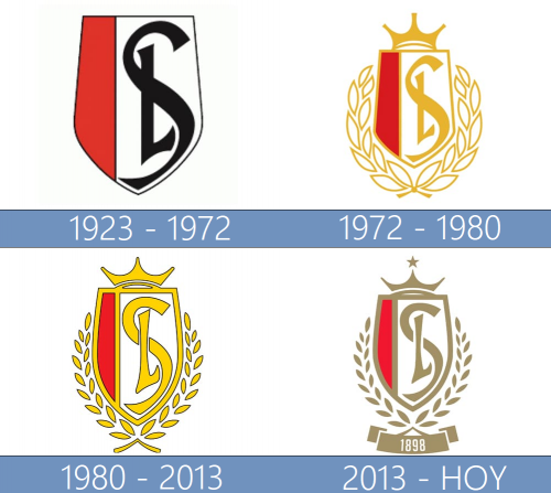 Standard de Liège logo historia
