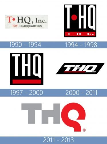 THQ logo historia