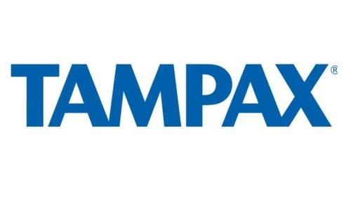 Tampax logo 1990