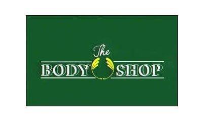 The Body Shop logo 1976