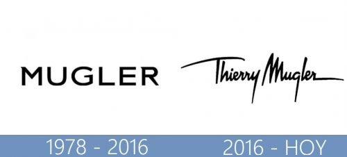 Thierry Mugler Logo historia