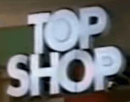 Topshop Logo 1990
