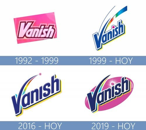 Vanish logo historia