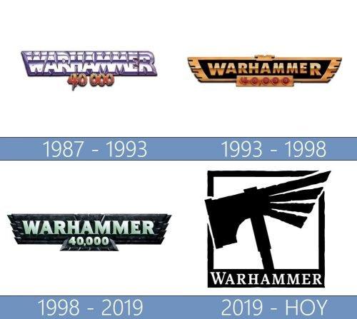 Warhammer logo historia