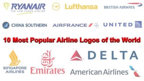 10 logos de aerolíneas más populares del mundo