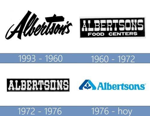 Albertsons logo historia