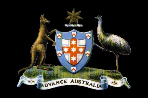 Australian Government Logo historia 1908