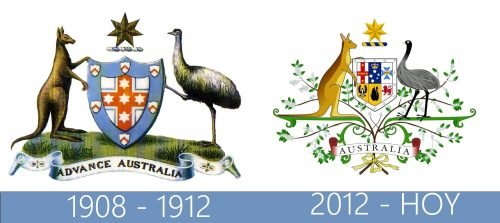 Australian Government Logo historia