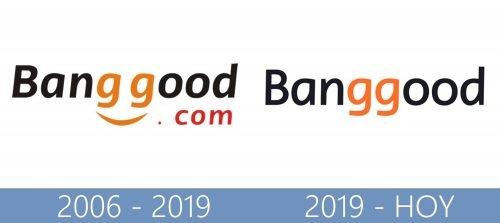 Banggood logo historia