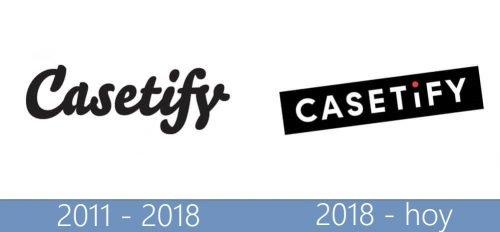 Casetify Logo historia