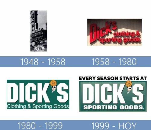 Dicks Sporting Goods Logo historia