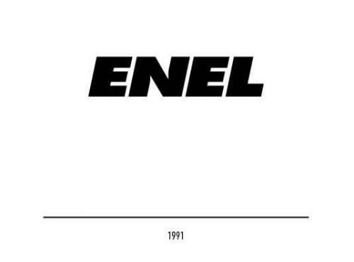Enel Logo 1991